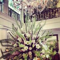 Photo taken at Hôtel Hermitage Monte-Carlo by Bran_lux812 on 7/21/2013