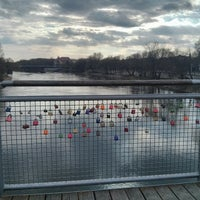 Photo taken at Donau by Marco P. on 3/19/2014