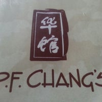 Photo taken at P.F. Chang's by Richey L. on 4/21/2013