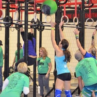 Photo taken at CrossFit Oak Ridge by CrossFit Oak Ridge on 2/19/2015