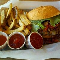 Photo taken at Brown Bag Burgers by Darlene W. on 11/6/2012
