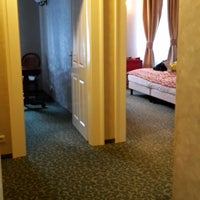 Photo taken at Hotel Angelis Prague by Alexandra S. on 6/10/2017