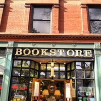 Photo taken at Boulder Bookstore by Alexandra W. on 3/17/2014