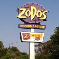 Photo taken at Zodo's Bowling & Beyond by Alexandra W. on 6/4/2013
