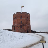 Photo taken at Gediminas' Tower of the Upper Castle by Evgeny P. on 12/9/2012