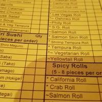 Photo taken at Sushi Garden Restaurant by Alessandra S. on 6/14/2016