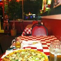 Photo taken at Santeramos Pizza by Diena R. on 12/7/2012