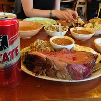 Photo taken at The Salt Lick by Garrett P. on 2/10/2013
