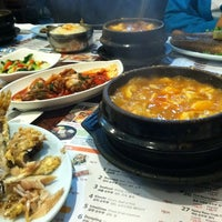 Photo taken at BCD Tofu House by Sarah V. on 11/30/2012