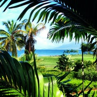 Photo taken at Four Seasons Resort Nevis, West Indies by Christine K. on 7/26/2013