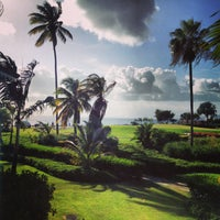 Photo taken at Four Seasons Resort Nevis, West Indies by Christine K. on 7/21/2013