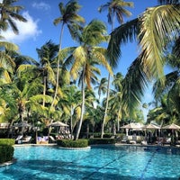 Photo taken at Four Seasons Resort Nevis, West Indies by Christine K. on 7/23/2013