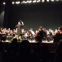 Photo taken at Teatro Municipal de Limeira by Guilherme P. on 7/5/2013