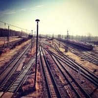 Photo taken at Bahnhof Elstal by Simpampon on 2/6/2013