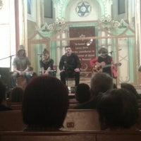 Photo taken at Sinagoga by Iulia M. on 2/23/2015