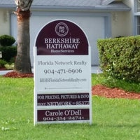 Photo taken at Berkshire Hathaway HS Florida Network Realty by Carole O. on 6/27/2014