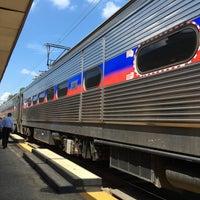 Photo taken at SEPTA/Amtrak: Ardmore Station by Jim S. on 8/11/2016