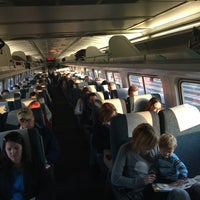 Photo taken at SEPTA/Amtrak: Ardmore Station by Jim S. on 10/21/2015