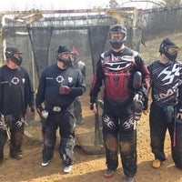 Photo taken at Nitro Paintball by Jason on 1/27/2014