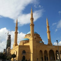 Photo taken at Mohammed Al-Amin Mosque by Manal A. on 12/7/2013
