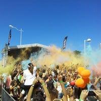 Photo taken at Color Run Recife by Eduardo O. on 7/28/2013