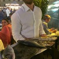 Photo taken at Pescerosso Restaurant by Luiz R. on 9/4/2017