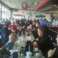 Photo taken at The 50's Diner by Nancy T. on 4/21/2013