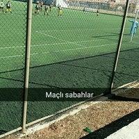 Photo taken at Abdurrahman Temel Futbol Sahası by Burak Ö. on 3/5/2017