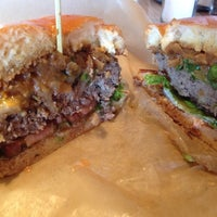 Photo taken at Hopdoddy Burger Bar by Jessica S. on 11/1/2013
