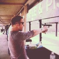 3/18/2013 tarihinde Paul B.ziyaretçi tarafından Elm Fork Shooting Range'de çekilen fotoğraf