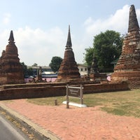 Photo taken at Phra Nakhon Si Ayutthaya by Fazira B. on 3/18/2017