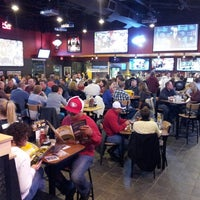 Photo taken at Buffalo Wild Wings by Sinister S. on 12/11/2012