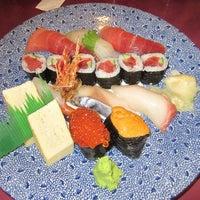 Photo taken at Sushi King by greggu c. on 9/29/2012