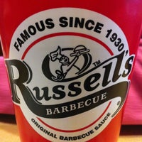 Photo taken at Russell's Barbecue by Kelly C. on 2/28/2013