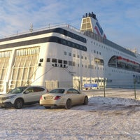 Photo taken at M/S ROMANTIKA | Tallink Ferry by Ivars . on 1/25/2013