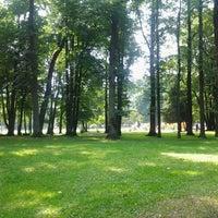 Photo taken at Nordeķu parks by Ivars . on 6/25/2013