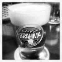 Photo taken at Quiosque da Brahma by Rodrigo C. on 9/15/2012