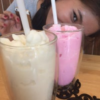 Photo taken at Nine Dessert Cafe by Fonn P. on 5/17/2015