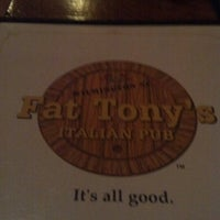 Photo taken at Fat Tony's Italian Pub by Tom M. on 12/7/2012