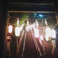Photo taken at 千年神社 by S H. on 7/25/2015
