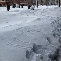 Photo taken at Coolidge Corner by Steve L. on 2/9/2013