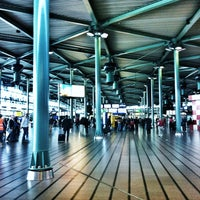 Photo taken at Amsterdam Airport Schiphol (AMS) by Louie C. on 4/21/2013