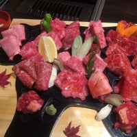 Photo taken at 俺の焼肉 銀座9丁目店 by kky0suke on 12/3/2014