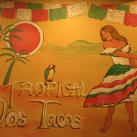 Photo taken at Dos Tacos by DK Y. on 12/10/2015