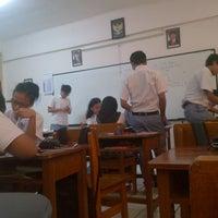 Photo taken at XI IPS 2 SMA Labschool Jakarta by Yafi Z. on 9/18/2012