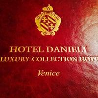 Photo taken at Hotel Danieli by Filippo C. on 12/6/2013