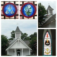 Photo taken at Corolla Chapel by Carolyn C. on 7/27/2014