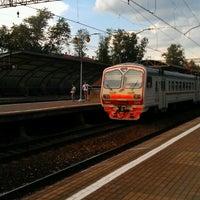Снимок сделан в Платформа Маленковская пользователем Nikita B. 6/14/2013