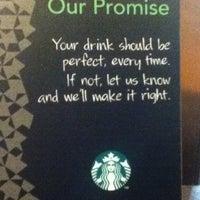 Photo taken at Starbucks Coffee by Natalie B. on 10/22/2012