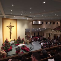 Photo taken at St. Justin Martyr Parish by Rob L. on 12/24/2014